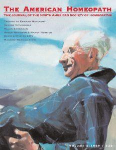 Volume 5 | 1999 - Edward Whitmont Issue