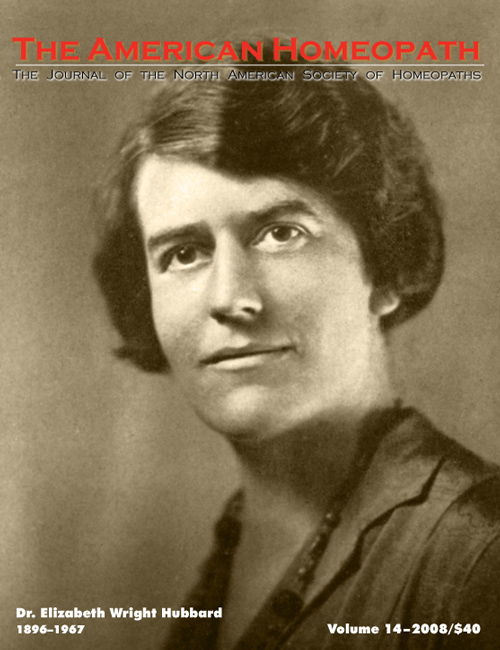 Volume 14 | 2008 - Elizabeth Wright Hubbard Issue