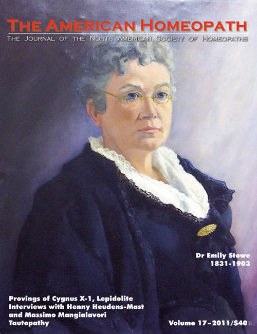 Volume 17 | 2011 - Dr. Emily Stowe Issue