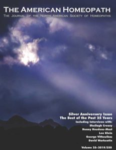 Cover of The American Homeopath Issue 25